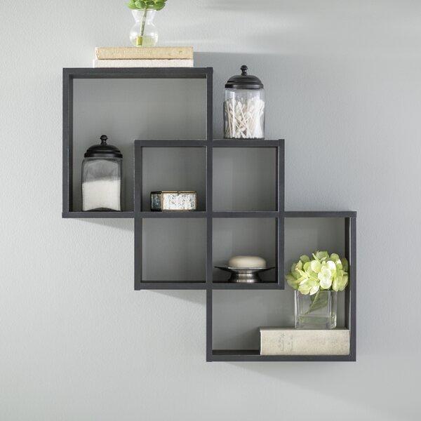 Odum 3 Intersecting Decorative Accent Shelf by Zipcode Design