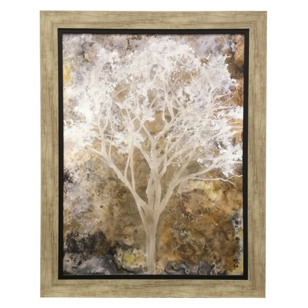 Terrazza Framed Painting Print by Red Barrel Studio