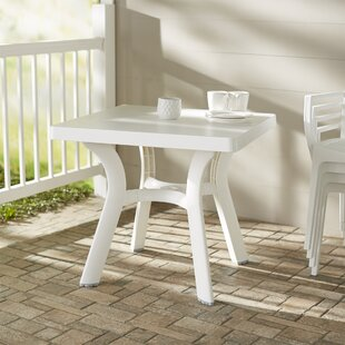 Best Choices Snake River Plastic Dining Table By Red Barrel Studio