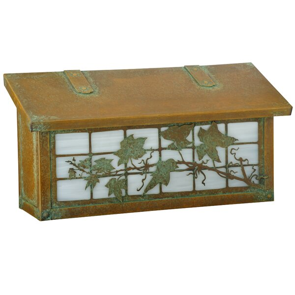 Ivy on Grid Wall Mounted Mailbox by America's Finest Lighting Company