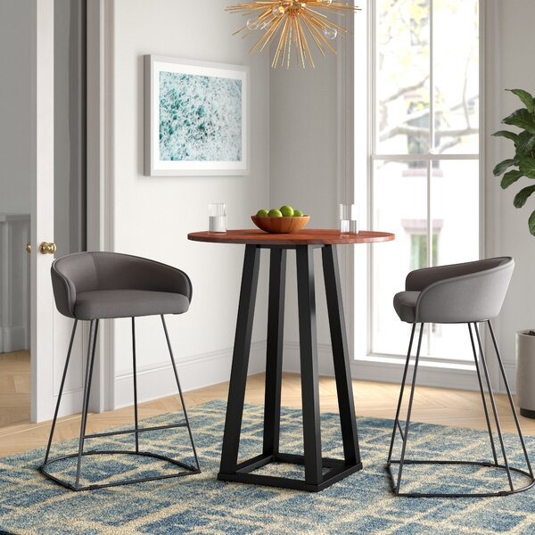 Alison Solid Wood Dining Table by Foundstone Foundstone