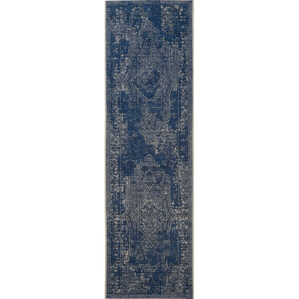 Cummington Light Gray/Anthracite Area Rug by Bungalow Rose