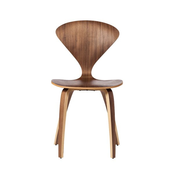 Gable Curve Solid Wood Dining Chair by George Oliver