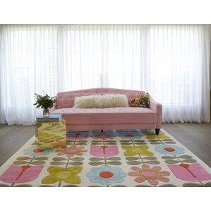 flower child handtufted area rug