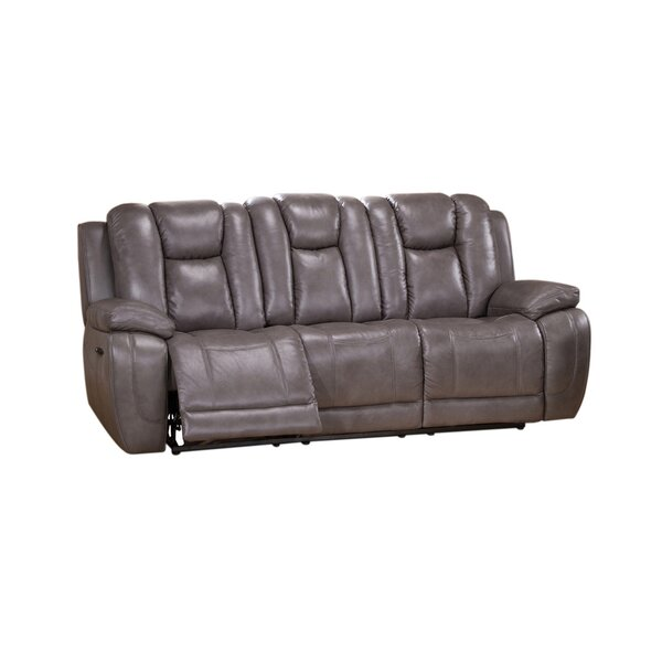 Fae Power Reclining Sofa by Red Barrel Studio