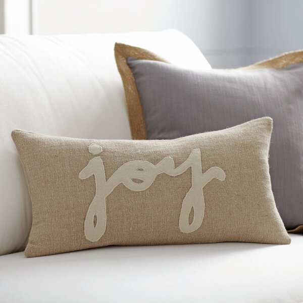 Tidings Lumbar Pillow by Birch Lane™