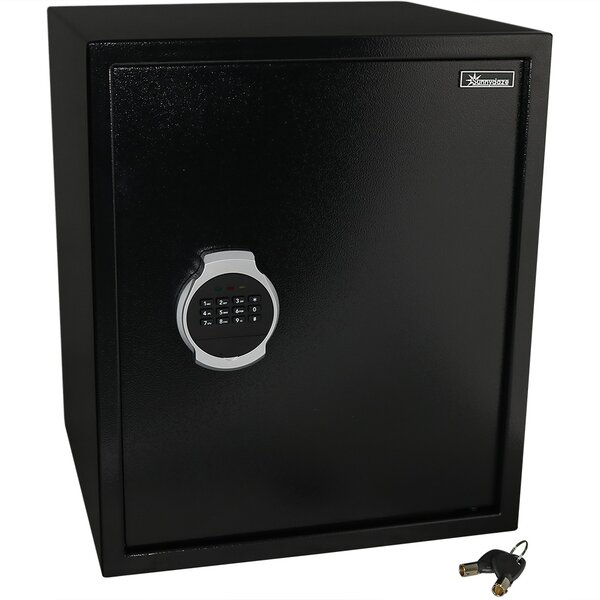 Balhi Digital Home Security Safe with Electronic/Key Lock by Symple Stuff