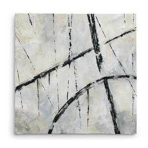 'Urban Over' Acrylic Painting Print on Wrapped Canvas by Williston Forge