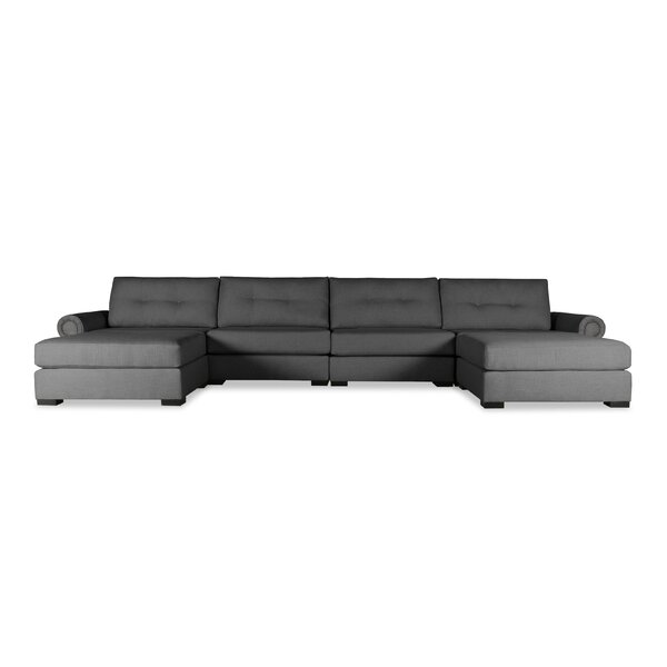 Willia Modular Sectional with Ottoman by Three Posts