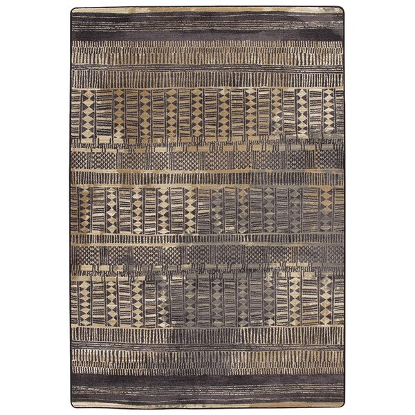 Tate Sahara Gold Area Rug by Bungalow Rose