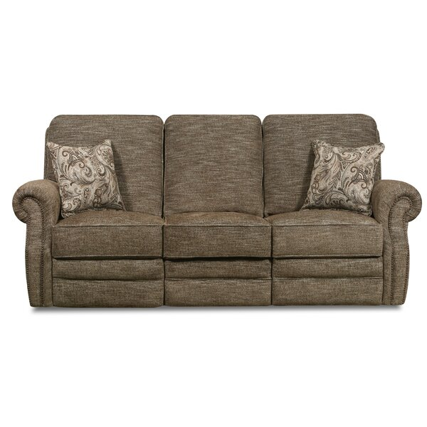 Cleek Reclining Sofa by Darby Home Co