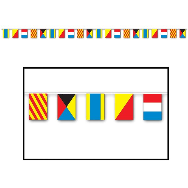 Nautical Traditional Flag by The Beistle Company