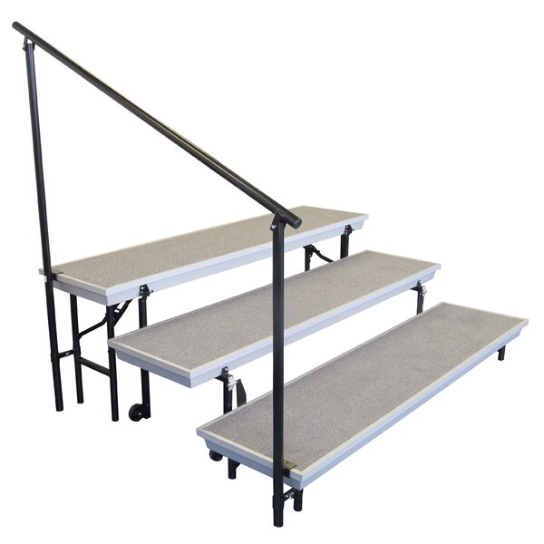 Side Rails for TransPort Riser by National Public Seating