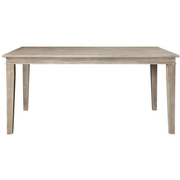 Woodrow Dining Table by Andrew Home Studio