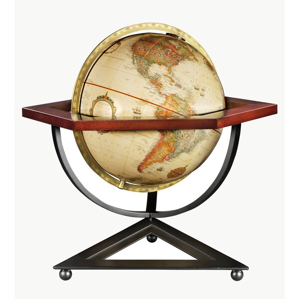 Frank Lloyd Wright® Hexagon Desk Globe by Replogle Globes