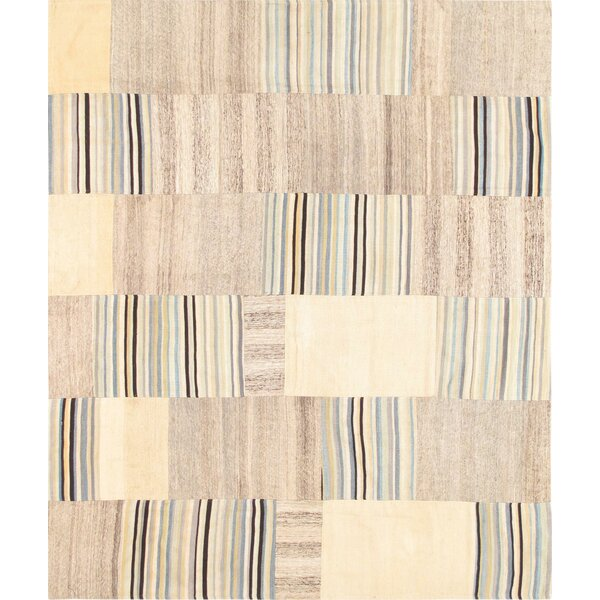 Patchwork Hand-Woven Area Rug by Pasargad