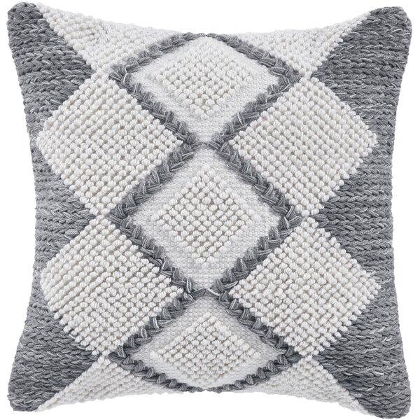Harlequin Indoor / Outdoor Geometric Throw Pillow By CompanyC