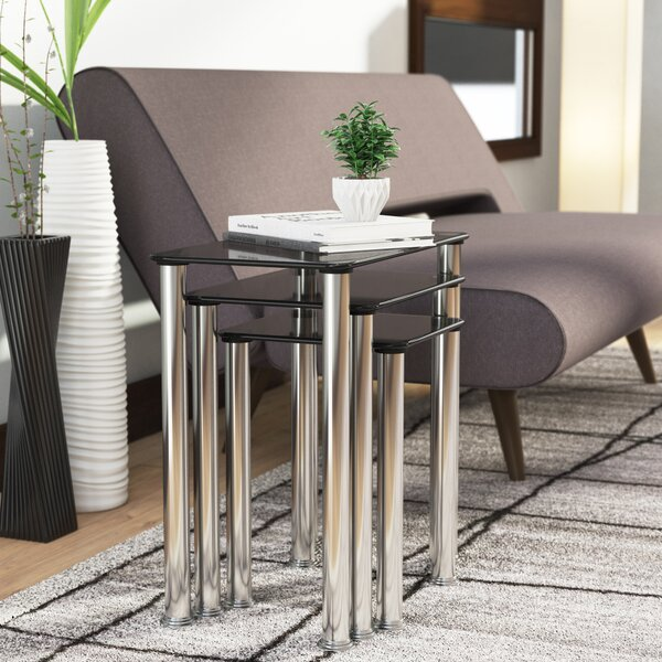 Natale 3 Piece Nesting Tables By Ebern Designs