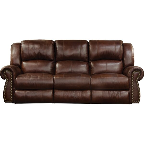 Hot Price Messina Leather Reclining Sofa by Catnapper by Catnapper