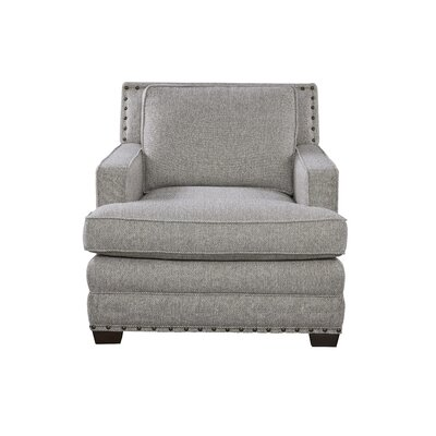 Ryans Armchair Upholstery Color: Gray