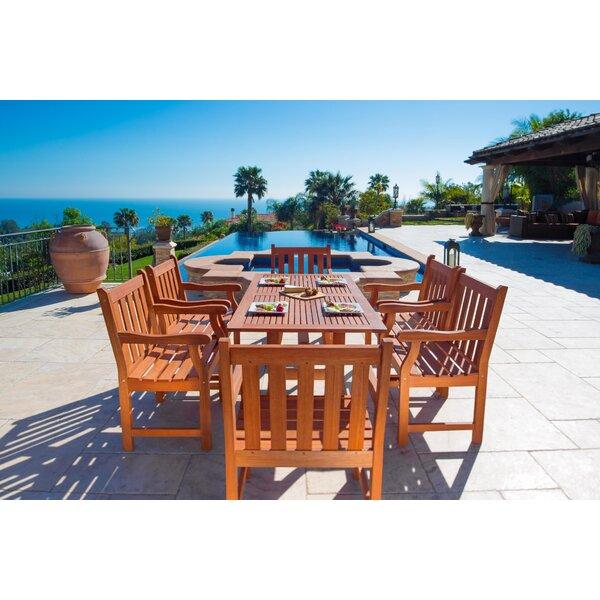 Monterry 7 Piece Dining Set by Beachcrest Home