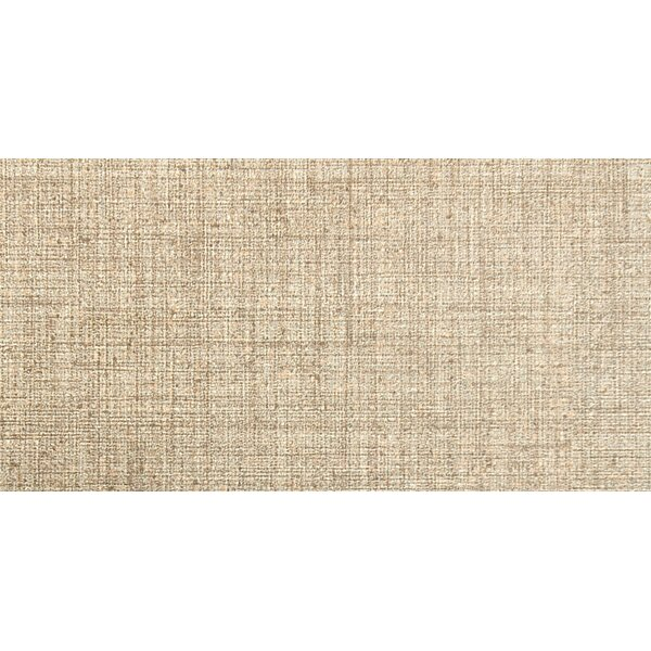 Canvas 12 x 24 Porcelain Fabric Look Tile in Linen by Emser Tile