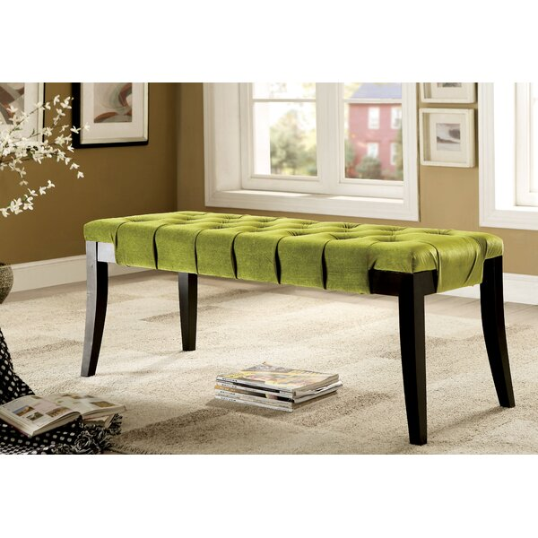 Pinedale Upholstered Bench by Latitude Run