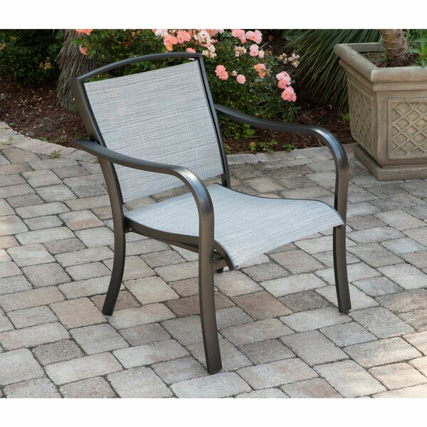 Wrenn All-Weather Commercial-Grade Aluminum Lounge Chair with Sunbrella Sling Fabric by Charlton Home