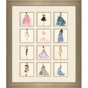 'Barbie 2014' by Robert Best Framed Photographic Print on Plexiglass Set by Picture Perfect International