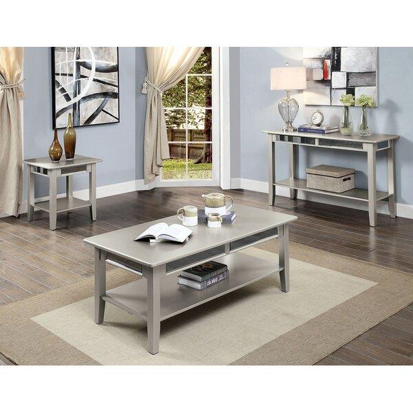 Underwood 3 Piece Coffee Table Set by Mercer41 Mercer41