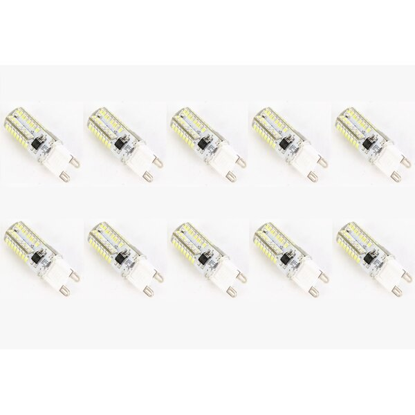 4W G9 Dimmable LED Light Bulb (Set of 10) by CWI Lighting