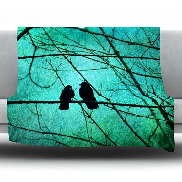 Smitten by Robin Dickinson Fleece Throw Blanket by KESS InHouse