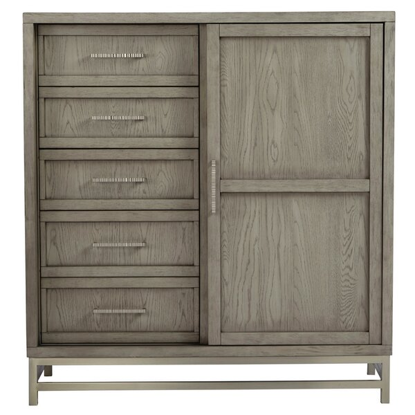 Osgood 5 Drawers Gentleman's Chest by Wrought Studio