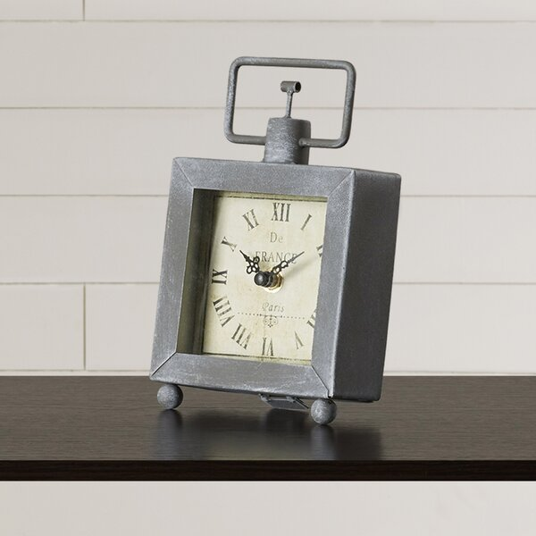 Wanderer Table Clock by Lark Manor