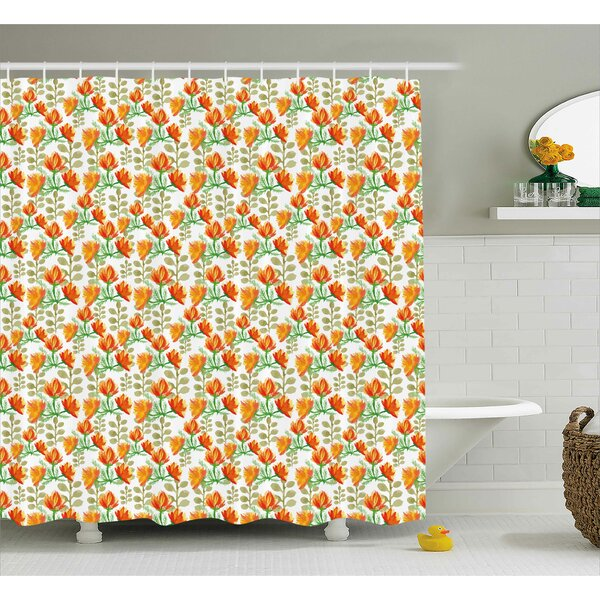 Blossom Garden Shower Curtain by East Urban Home