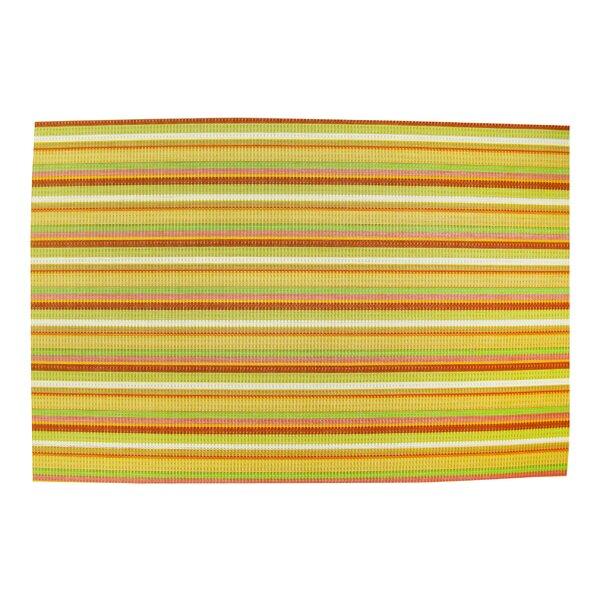 Woven Vinyl Placemat (Set of 4) by Textiles Plus Inc.