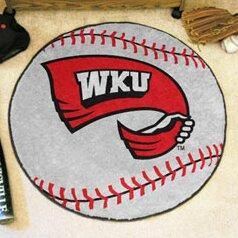NCAA Western Kentucky University Baseball Mat by FANMATS