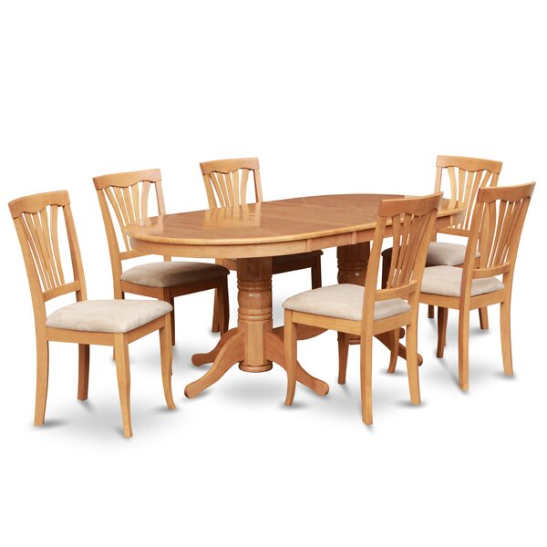 Reviews Rockdale 7 Piece Extendable Dining Set By Darby Home Co 2019 Sale