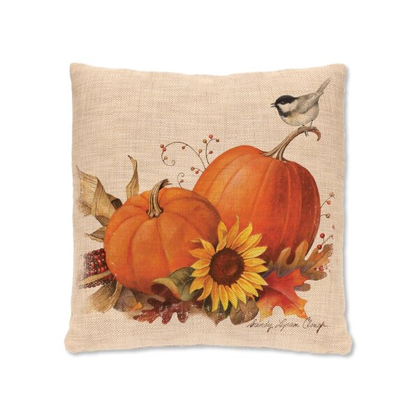 Waddell Pumpkin Pillow Cover by August Grove