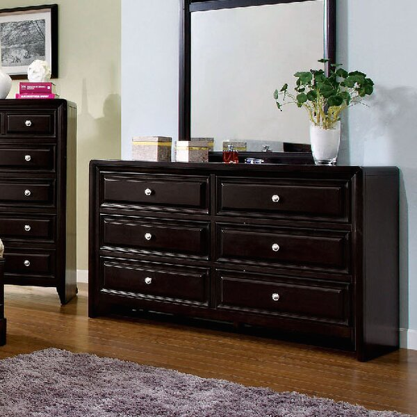 Mattapan 6 Drawer Double Dresser by A&J Homes Studio
