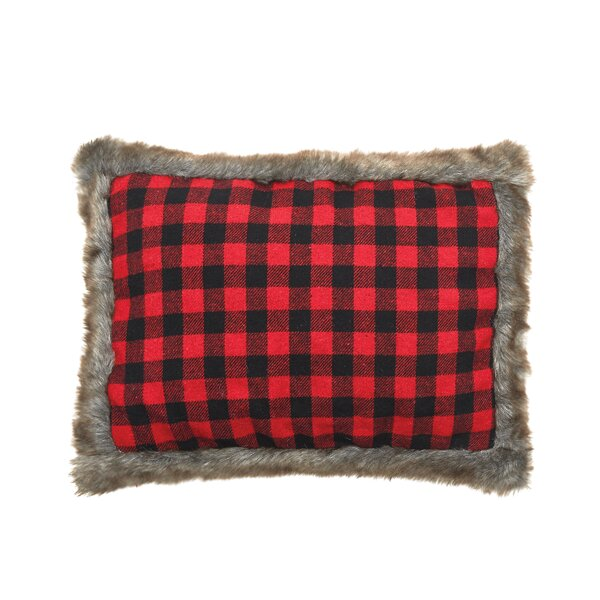 Westover Buffalo Check Throw Pillow by Millwood Pines