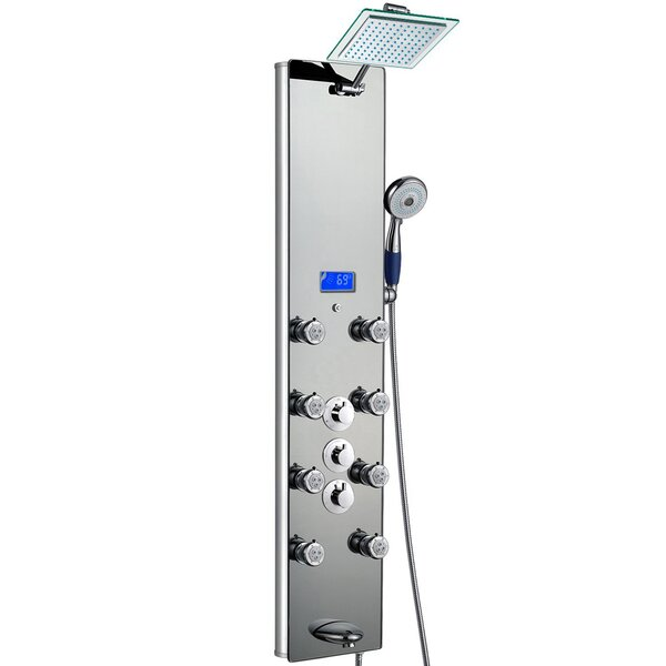 Rainfall Volume Control Adjustable Shower Head Shower Panel By Akdy.