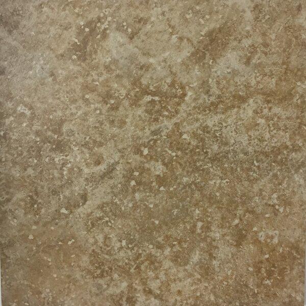 Cristallo Milan 13 x 13 Procelain Field Tile in Noce by Kellani