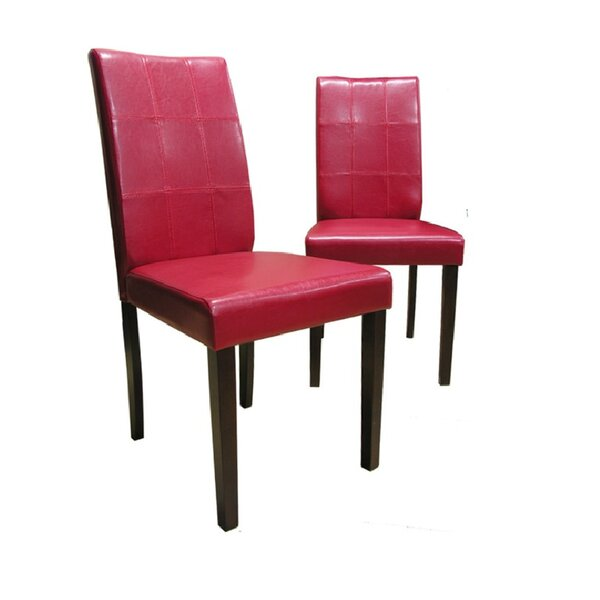 Evellen Upholstered Dining Chair (Set of 2) by Warehouse of Tiffany