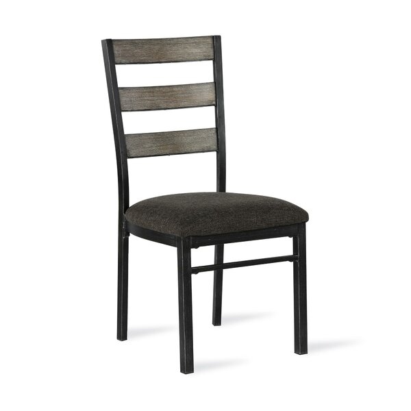 Modern Comstock Upholstered Dining Chair (Set Of 2) By Union Rustic Great price
