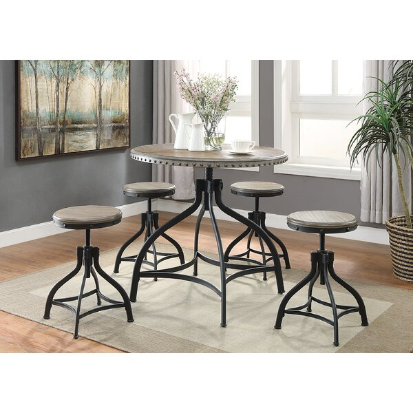 Millner 5 Piece Counter Height Dining Set by Williston Forge
