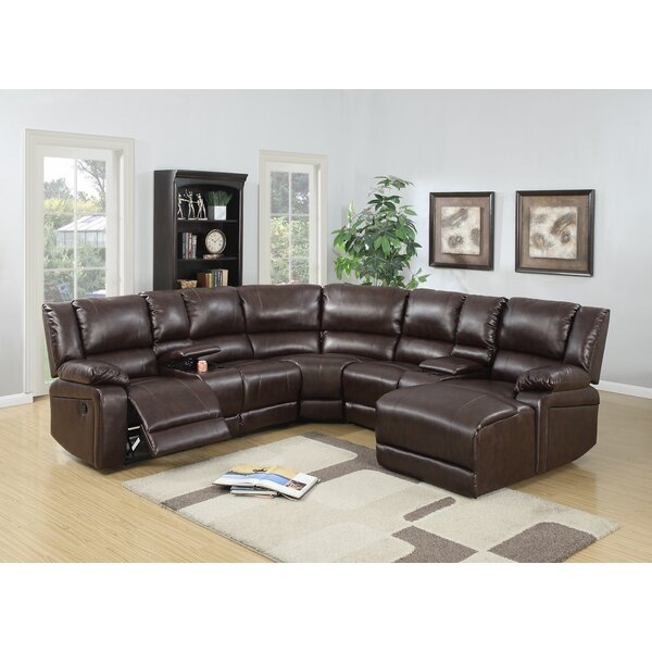 #1 Kowalski Reclining Sectional By Red Barrel Studio New Design