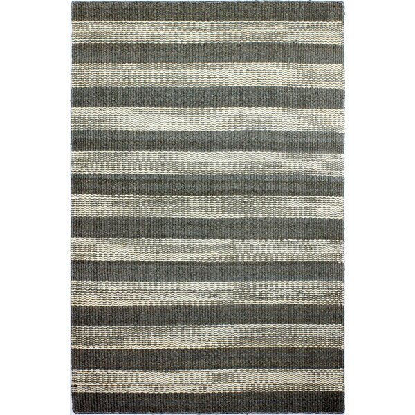Bluffton Hand-Knotted Taupe Area Rug by Breakwater Bay