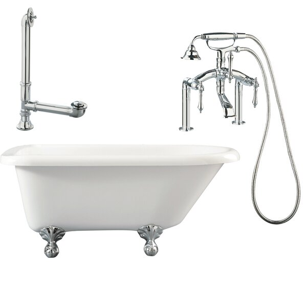 Augusta Roll Top Soaking Bathtub by Giagni