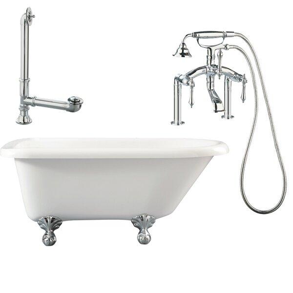 Augusta Roll Top Soaking Bathtub by Giagni